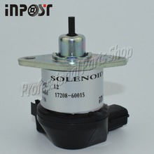 17208-60010 17208-60015 Fuel Shut Off Solenoid For Kubota D905 D1005 D1105