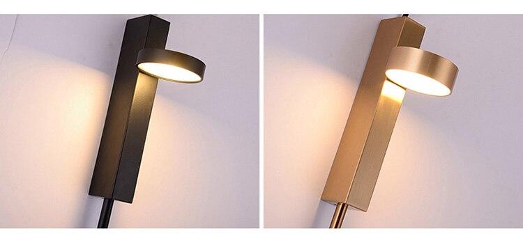 Nordic moderno interruptor de luz parede luxo
