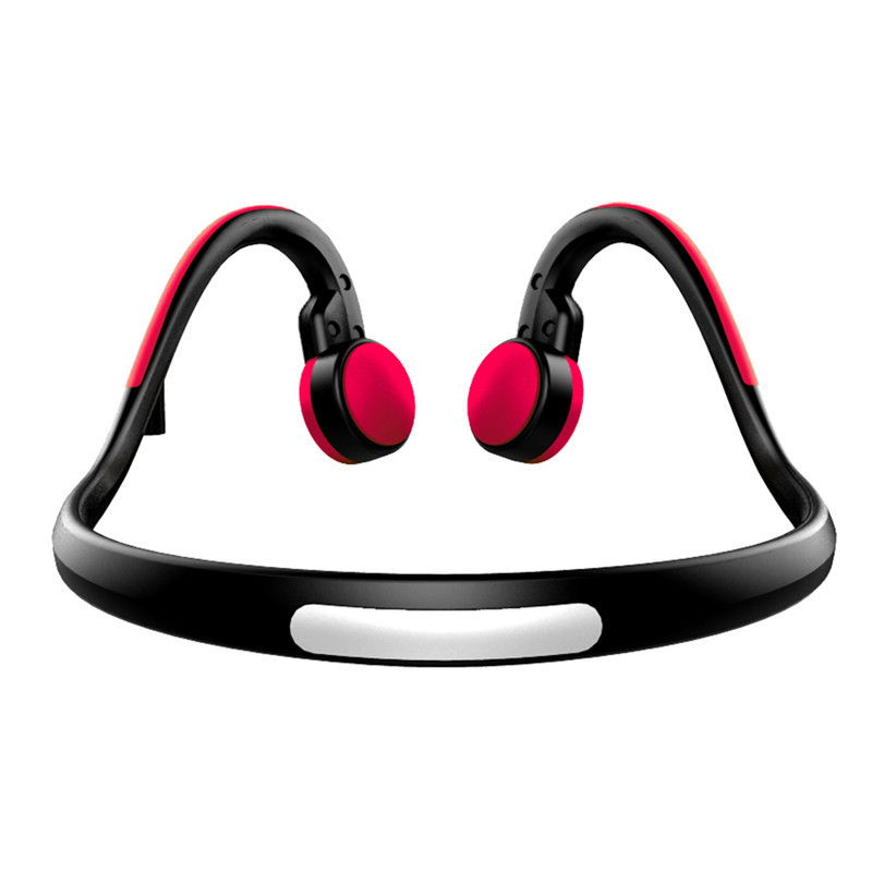 Bone Conduction Headphone Headsets Outdoor Sports with Mic Hands-free Earphones Headset Noise Cancellation Earphone