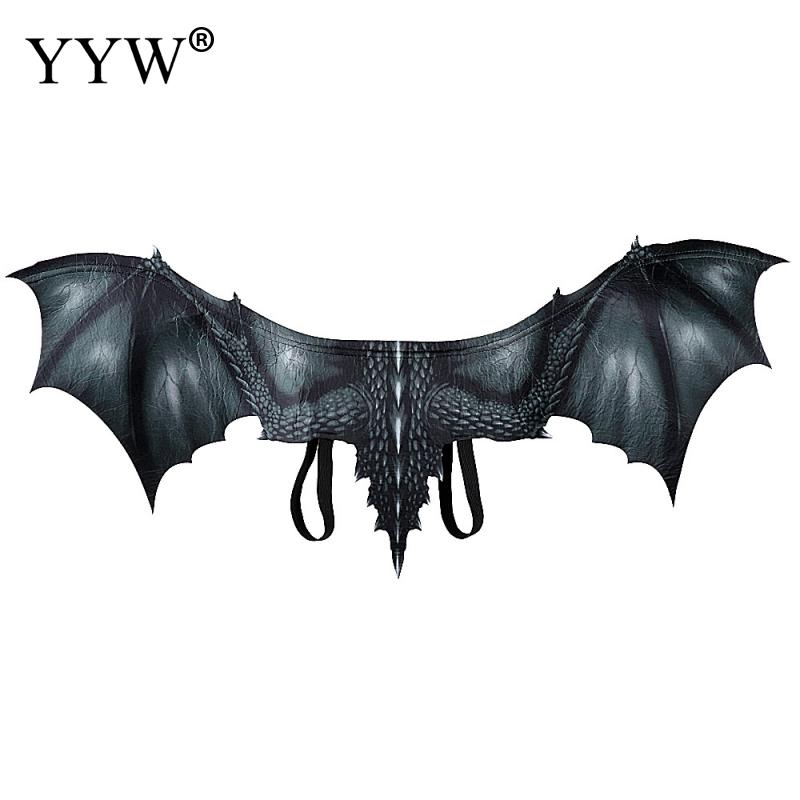 Adults Kids Dragon Wings Halloween Costume Cosplay Realistic Fancy Dress Gifts