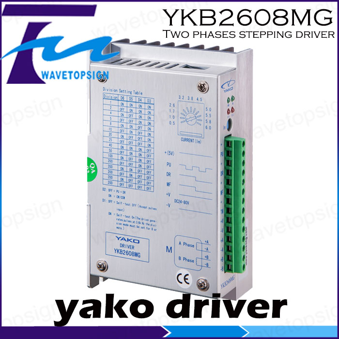 YKB2608MG YKB2608MH    Two phases stepping driver