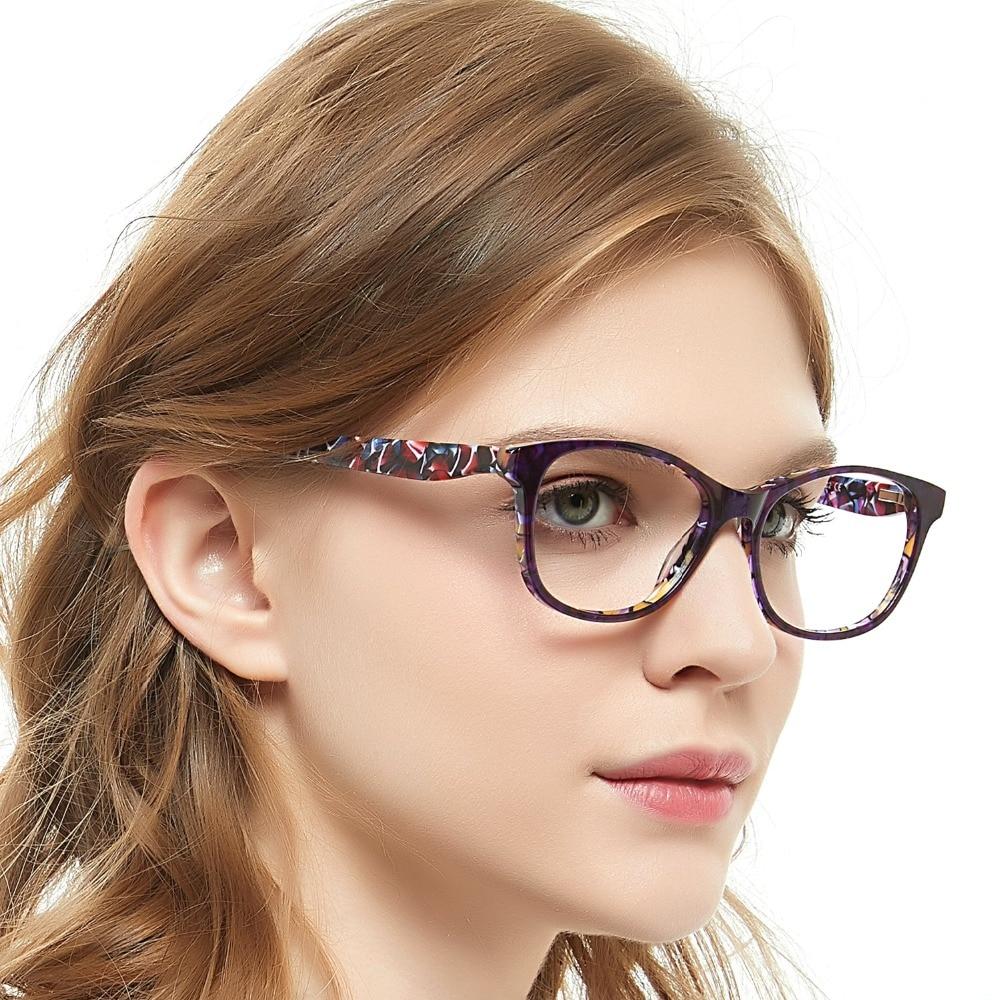 0a38329d40 Gafas OCCI CHIARI de alta calidad para mujer gafas ópticas montura de acetato  gafas de borde completo gafas de moda gafas W-DEROO