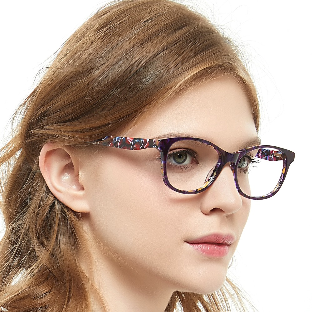 OCCI CHIARI Glasses Women Top Quality Female Optical Glasses Frames Acetate Eyewear Full Rim Fashion Eyewear Spectacles W-DEROO