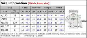 Image 5 - New Winter Men Wool Trench Coat Men Long Trench Slim Fit Overcoat High Quality Men Coats Fashion Trench Outerwear