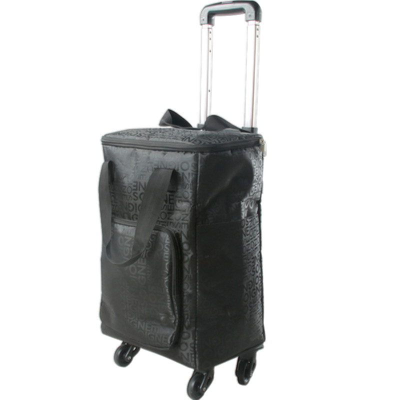 Foldable trolley case,Universal wheel portable shopping cart,Aluminum alloy trolley shopping bag,Travel storage bale,Light trunk