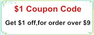 $1 coupon code