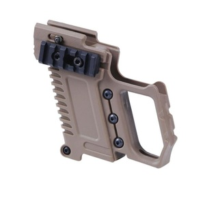 Image 4 - Tactical Airsoft GLOCK Magazine Holder Multi function Fits For CS G17 G18 G19  Pistol Carbine Kit Hunting Accessory