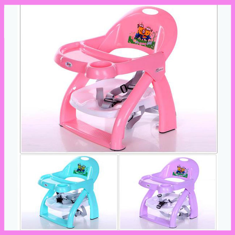 Portable Folding Portable Baby Chair Seat Plastic Toddler Safety Eating Seat Child Feeding Chair Dining Chair Portable 2016 baby chair for baby inflatable sofa flower cow cute safety portable for feeding seat free shipping