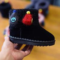 Christmas Gift Boots For Girls Kids Winter Shoes Boys Children S Ankle Snow Boots With Hats