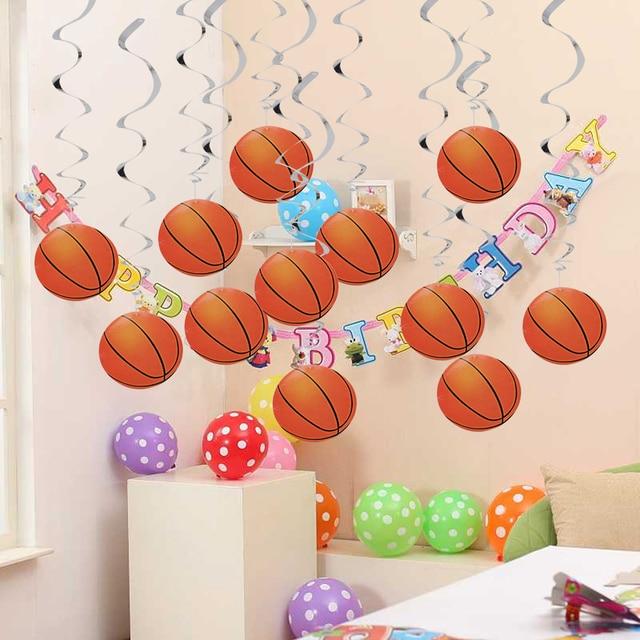 Aliexpress Com Buy 12pcs Basketball Hanging Swirls School Sport