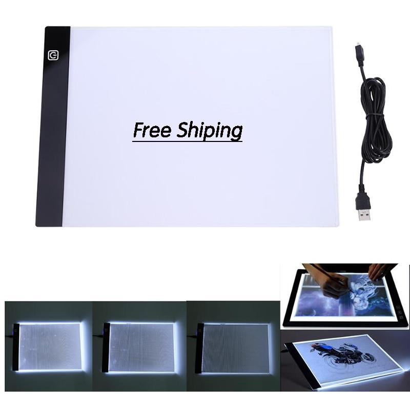 A5 LED Pintura Diamante Lightpad Tablet Ultrafino 3.5 milímetros Pad Aplica a UE/REINO UNIDO/AU/EUA/ plugue USB Bordado serie la casa de papel