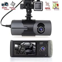 CARPRIE New 2.7″ Vehicle Car DVR Camera Video Recorder Dash Cam G-Sensor Dual Len Camera Double lens GPS module Automatic cycle