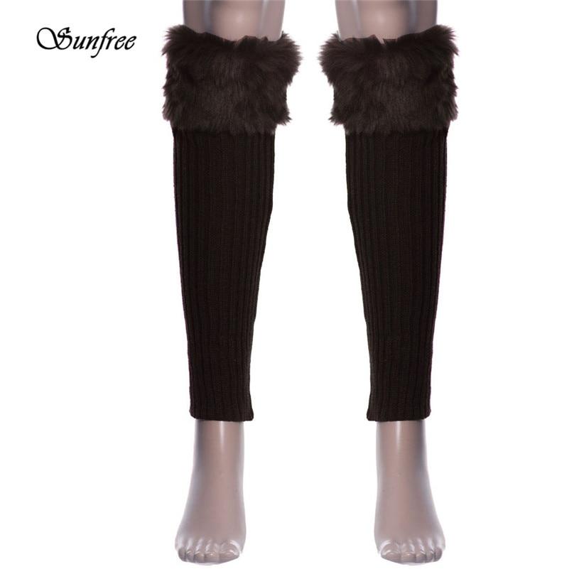 Sunfree 2016 New Design 1 Pair Women Stretch Boot Leg Cuffs Adult Socks Brand New and High Quality Dec 28