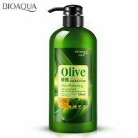 BIOAOUA Olive Refreshing Shower Gel Hydrating Moisturizing Long Lasting Fragrance Body Wash Bath Lotion Skin Smoothing