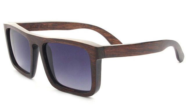 3200853bfa0 Free Shipping Handmade Natural Wood Sunglasses Men and Women Wooden  polarized sunglasses 4 color Unisex wood
