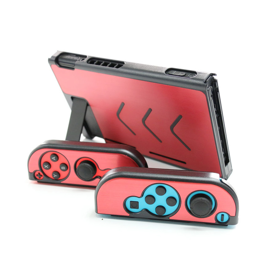 Nintend Accessories 5 Colors Hard Metal Nintend Console Case Shockproof Protective Cover for Nintend Switch NS Console Joy-con 1
