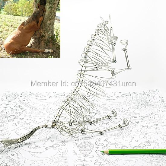N1 HORSE ZVÍŘATA / ČÍNSKÝ ZODIAC LIMITED SOUVENIR PUPPET / MODEL / AKTIVNÍ SPOLEČNÁ HRAČKA A SVATBA & NARODENÍ & DOMŮ & KANCELÁŘE A DÁRKY A DÁRKY