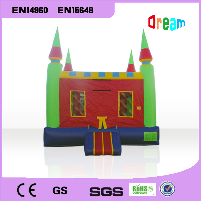 Free Shipping Children Trampoline Inflatable Bouncer House Inflatable Bouncer Castle Inflatable Jumping Castle Toy For Kids 2015 blue yellow inflatable jumping house free shipping