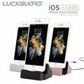 LuckGuard USB Зарядное Док Зарядное Устройство Для iPhone SE 5 5S 5C 6 6 S 7 Плюс ipad Синхронизации Данных Кабель Micro Usb Dock Подставка Для Зарядки устройство