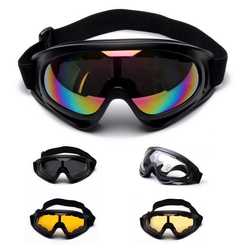 Prix pour UV400 Plein Air Lunettes De Ski Anti-brouillard Coupe-Vent Lunettes actical lunettes Tactique impact miroir D'équitation sur pied