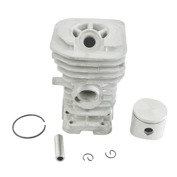 Cylinder Barrel Piston & Ring Kit For HUSQVARNA 136 137 Chainsaw 38mm 38mm om36 cylinder kit fits efco oleo mac om emak 436 sparta 36 37 om38 trimmer zylinder w piston ring pin clips assembly