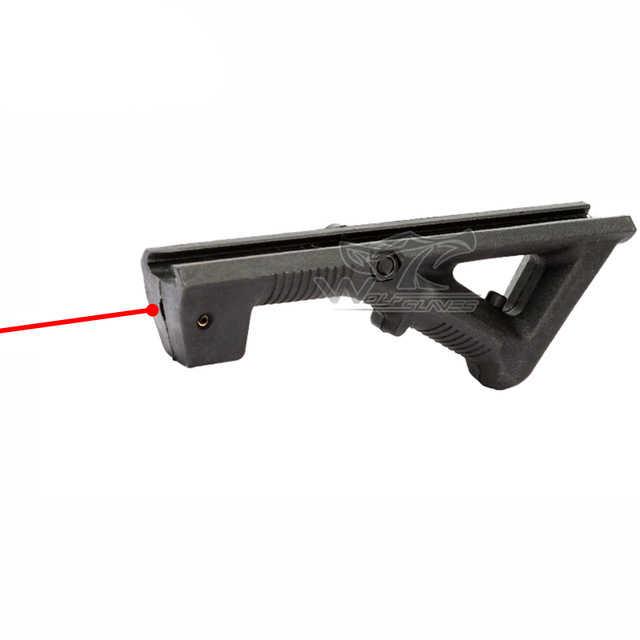 Taktis M4 AFG Laser Pertempuran Militer Berburu Pemasangan Perlengkapan DENGAN Laser Adjustable Airsoft Pistol Mainan Aksesoris Pandangan Dot Nerf Gun