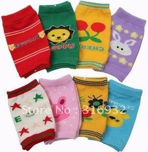 G3 Wholesale! Baby sockscotton knee warmers knee pad,12pairs/lot