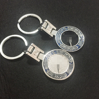 High Quality Solid Alloy Metal Key Chain Keyring Keychain Key Ring Suit For Mercedes Benze