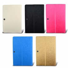 ocube Tri-Fold Extremely Slim Wire line Sample Folio Stand Holder PU Leather-based Case Cowl For Teclast X16HD 3G Twin OS 10.6″Pill PC