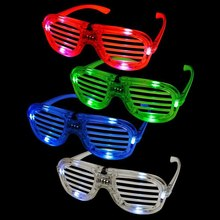 Flashing Party LED Light Glasses For Christmas Birthday Halloween Party Decoration Supplies Glow Glasses цена