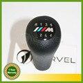 Frete Grátis Para BMW 3 5 7 Serie M E36 E46 E34 E38 M3 M Sport Emblema Emblema Logotipo Do Carro Styling 6 Velocidade Da Engrenagem Vara Alavanca de Câmbio lidar com
