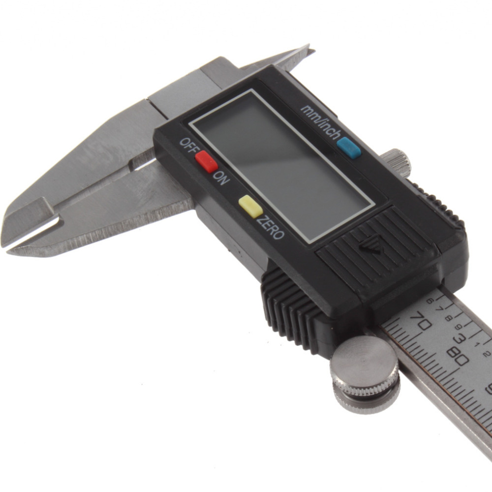 1pcs150MM Electric 6 Stainless Steel Digital Vernier Dial Caliper Gauge Micrometer Hot Search