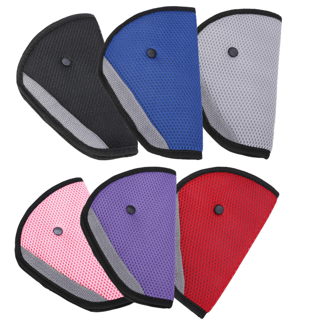 1pc Child Seat Belt Adjustment Holder Car Anti Neck Neck Baby Shoulder Cover Seat Belt 6 Colors for Kids Safety in Seat Belts Padding from Automobiles Motorcycles