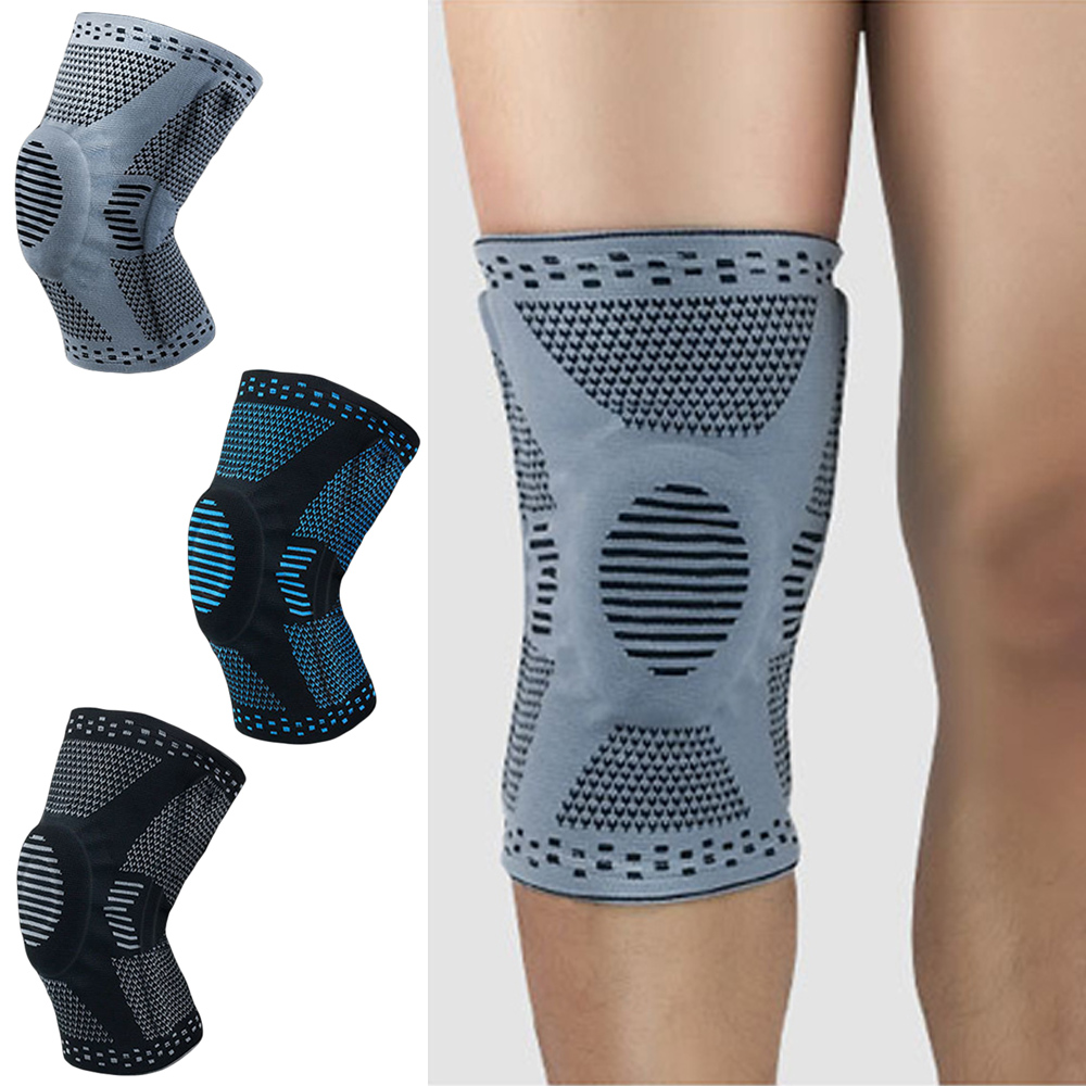 Elastic Support Sports Knee Pads Knee Warmer Running Basketball Protection SPSLF0084