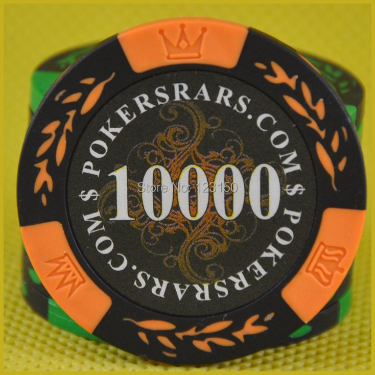 PK-8001H poker chip, 14g/pc clay material, 50pcs as a lot