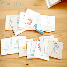 Cartoon Postcard Creativity with Envelope Greeting Card Life DIY Gift Festival Party Supplies Birthday Cards