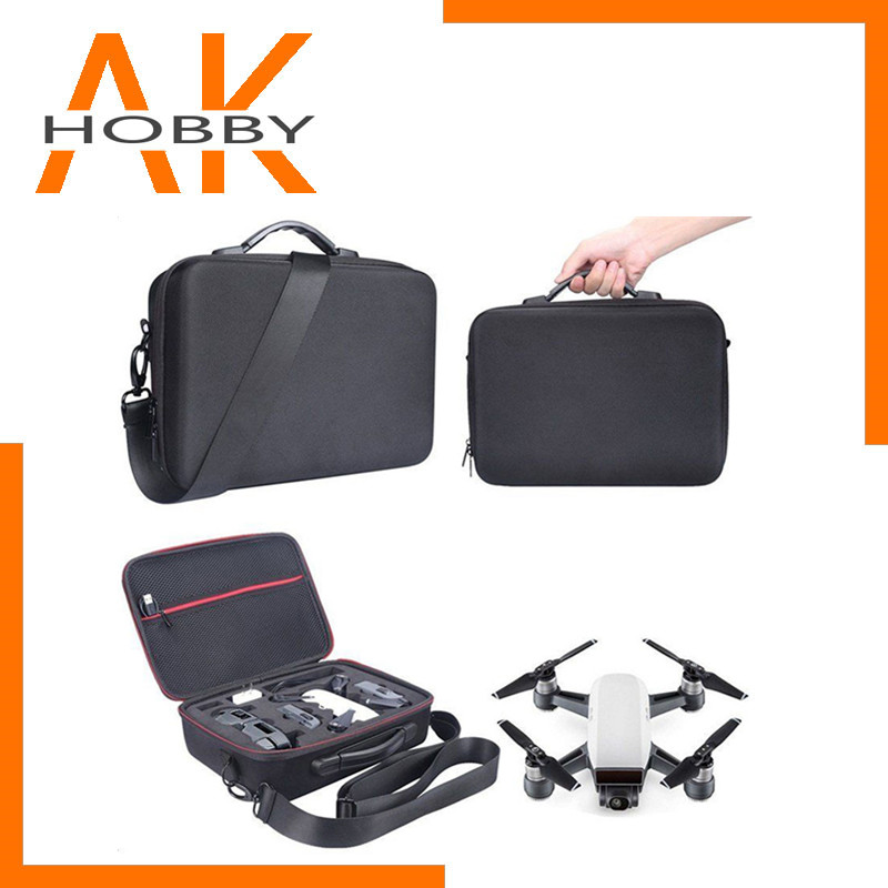 Portable Drone Case EVA Hard Shell Shoulder Bag Storage Carrying Bag for DJI Spark Drone Accessories