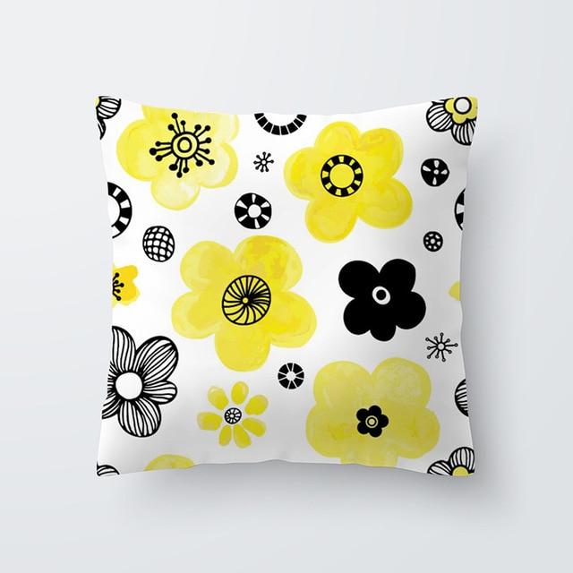 Yellow pillowcse 23