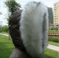 2017 Men and Women Faux Fox Fur Collar Winter Warm Thicking Shawl Cape Imitation Fox Fur Collar with Fur Tassels Cheap  D39