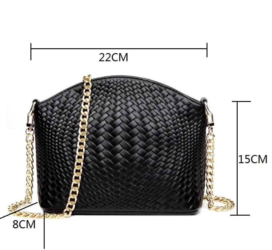 Brand Leather Ms Handbag Cowhide Womans Messenger Bags High Quality Woven Handbags Fashionable Soft Bag Bolsa Feminina