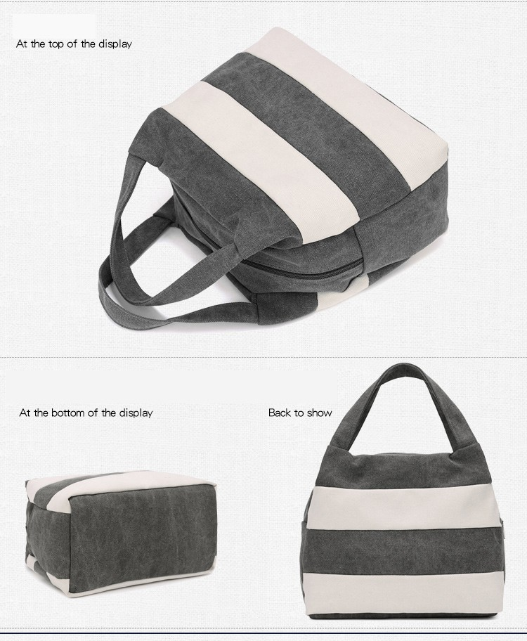 Famous Brand Women Shoulder Bag Casual Canvas Shopping Tote Bags Handbag for Women Beach Totes Shoulder Bag Hobos Bolso Mujer (26)