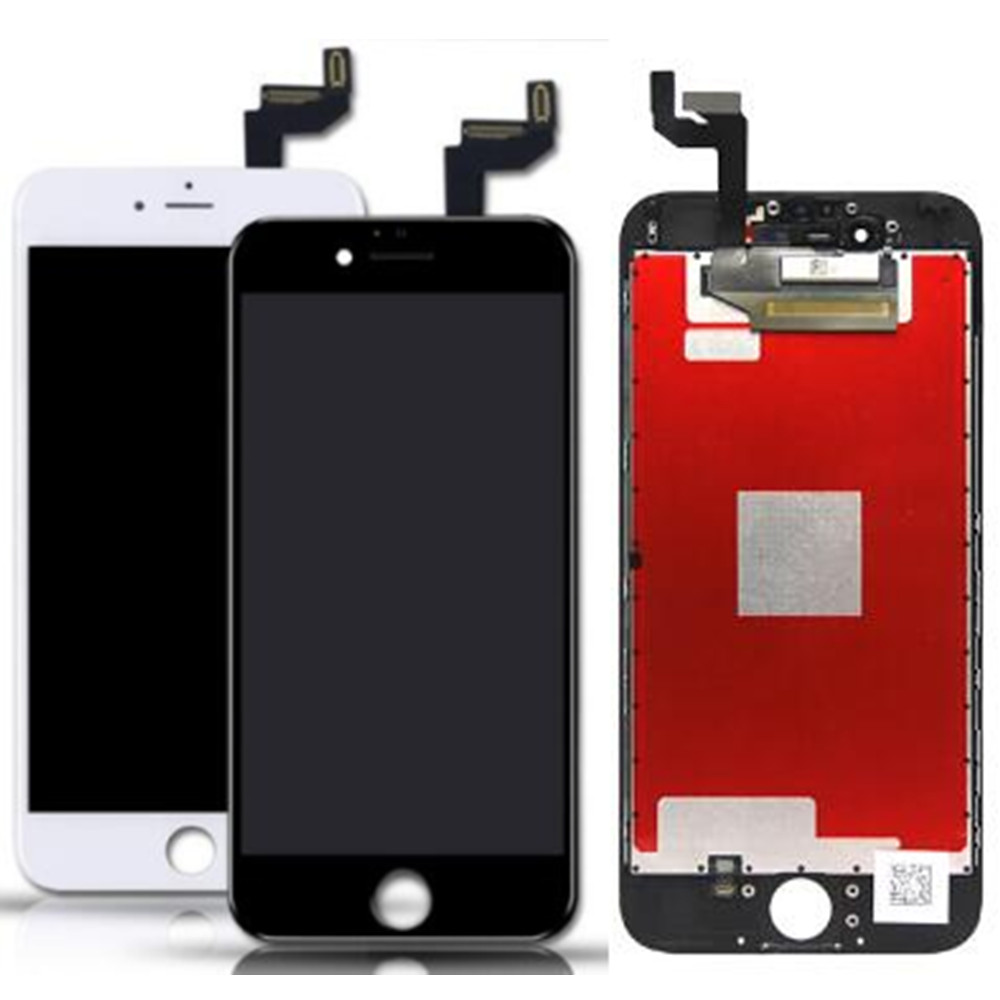 For Apple iPhone 6S LCD Screen and Digitizer Assembly with Frame Replacement!!(Black/White) image
