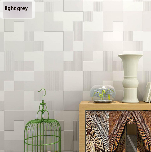 Modern Fashion Mosaic Design Wallpaper Living Room Background Wall