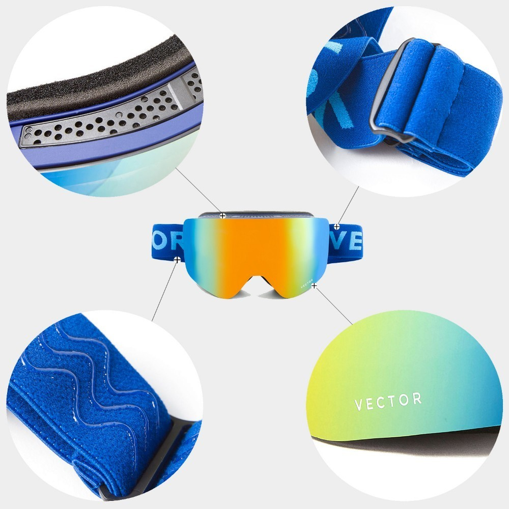 Ski Goggles - UV400 Protection 4