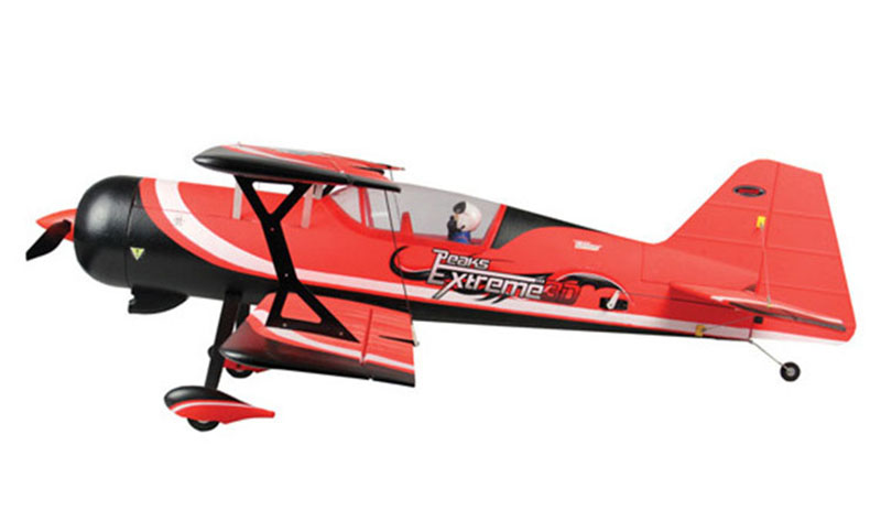 цена на Dynam Red 1130MM Pitts Model 12 RC RTF Propeller Plane W/ Motor ESC Servos Battery