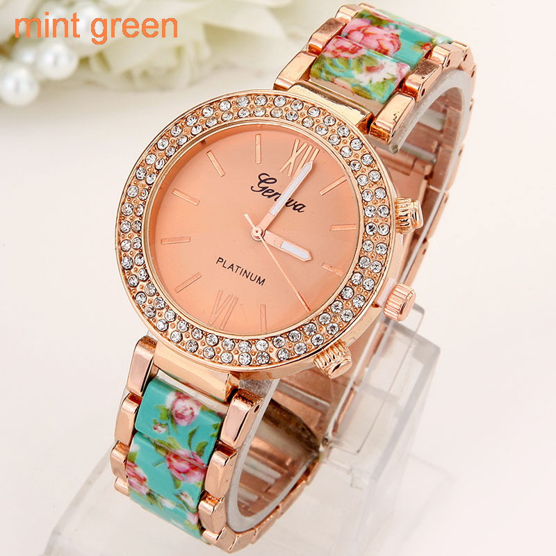 Flowers Women Watch  (2)