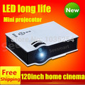 Hot selling!Home Theater HDMI USB  HD Portable Pico LCD LED Video Mini Projector digital3D Beamer projektor Proyector