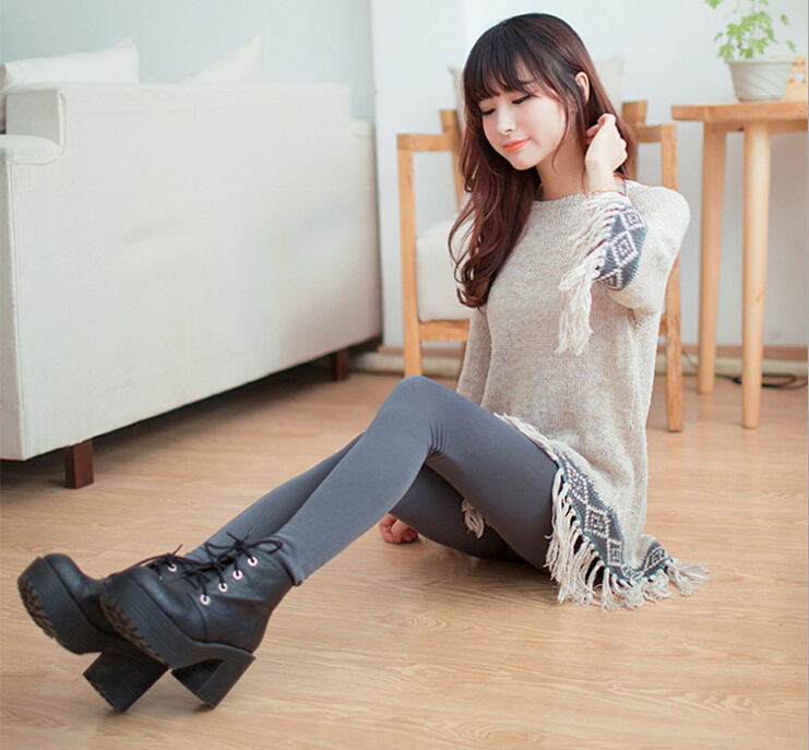 Autumn Women Leggings School Girls Pictures Sexy Winter -8080