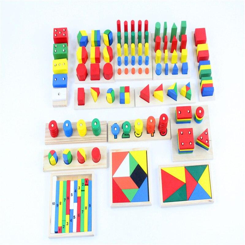 Image 5 - Детские игрушки Монтессори, сенсорные игрушки, 1 набор = 14 шт.,  для раннего развития, Дошкольное обучение, детские игрушкиtoy  texturestoy story piggy banktoy plush
