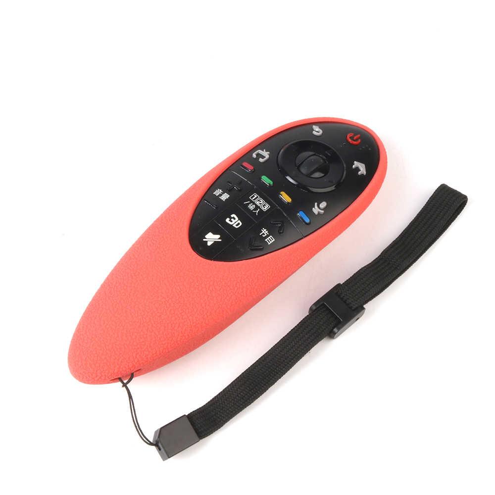 SIKAI استبدال سيليكون عن حقيبة لجهاز LG الذكية التلفزيون AN-MR500 غطاء لجهاز التحكم عن بعد ل LG MR500 التلفزيون حالة النائية (حزم متعددة)